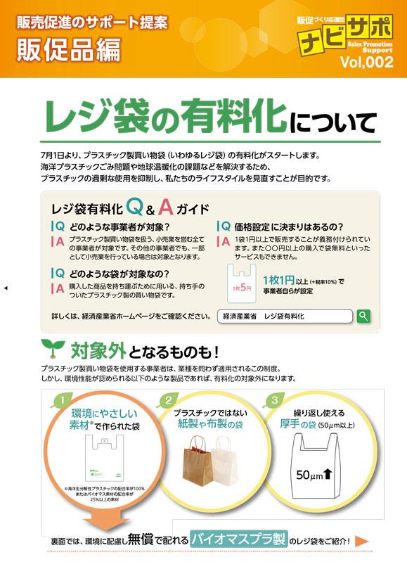 レジ袋の有料化について
